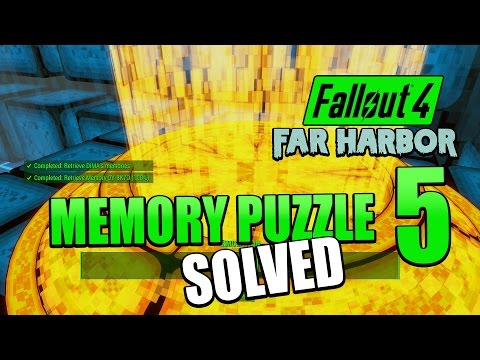 Fallout 4: Far Harbor | Memory 5 Solution - How to solve DiMA Memory Puzzle 5 - Memory 0Y-8K7D