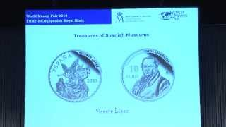 Latest and Forthcoming Issues of the Spanish Royal Mint. VIDEO: 9:49.
