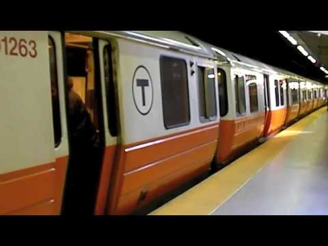 Mbta orange line at back bay and downtown crossing youtube mbta orange line at back bay and downtown crossing sciox Gallery
