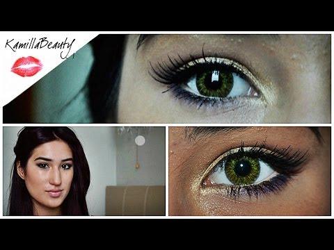 Романтичный Нежный Макияж для Зеленых и Карих глаз KamillaBeauty