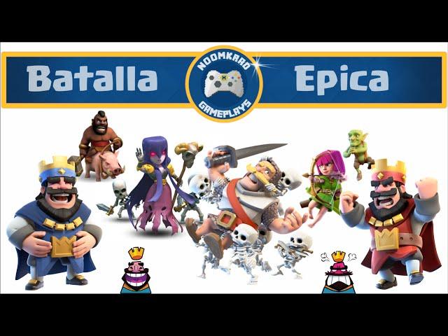 Uno VS Clan StoneDays / Clash Royale / Noomkrad Gameplays / English Subtitles