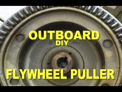 YAMAHA EVINRUDE JOHNSON MERCURY UNIVERSAL OUTBOARD FLYWHEEL PULLER LIFTING EYE