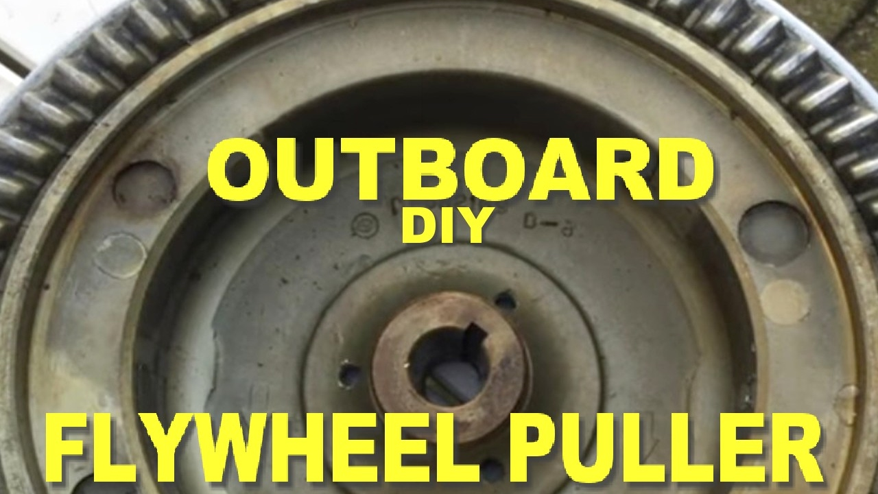 D I Y HOMEMADE OUTBOARD FLYWHEEL PULLER YouTube