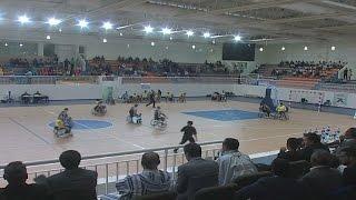 نهائي الدوري الدولي الأول لكرة السلة على الكراسي المتحركة بكلميم
