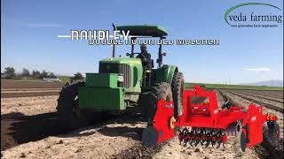 Douplex: Double Rotor Bed Mulcher