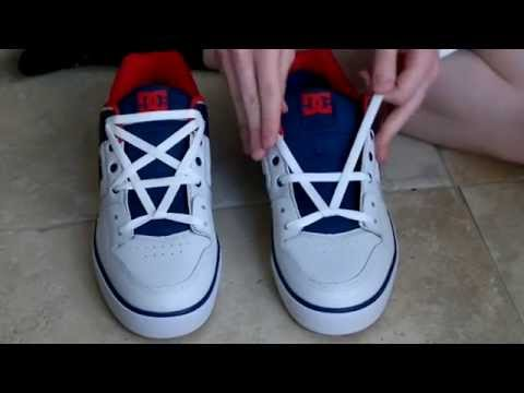 How To Pentagram Lace Shoes