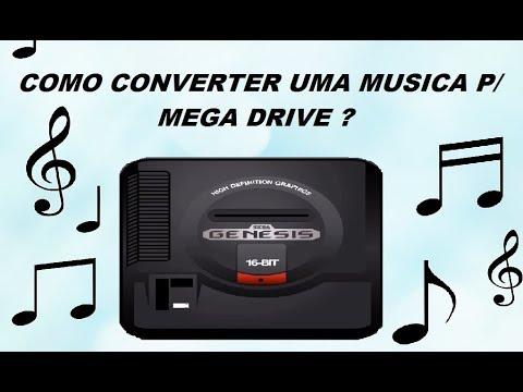 Como Converter uma Musica ( MP3 ) p/ Mega Drive ?  Muito fácil !