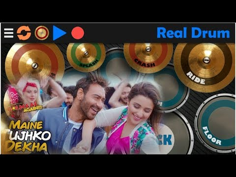 Maine Tujhko Dekha (Real Drum Cover) (Golmaal Again)| Ajay Devgn | Parineeti