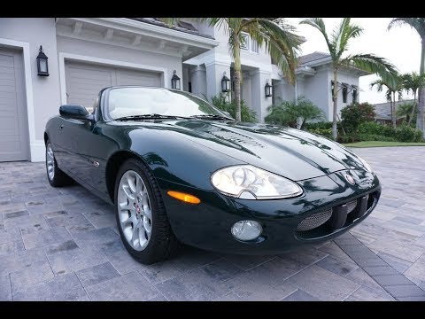2002 Jaguar XKR Convertible Review and Test Drive by Bill - Auto Europa Naples