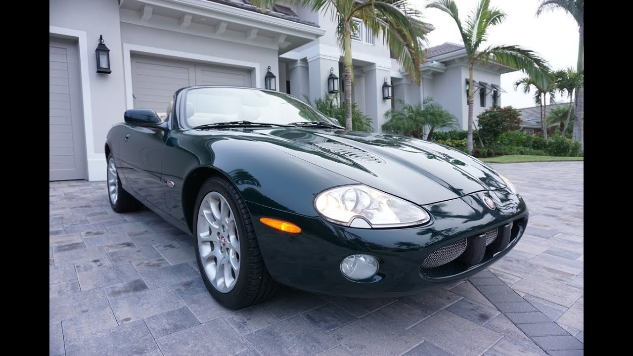 2002 Jaguar Xkr Convertible Review And Test Drive By Bill Auto Europa Naples