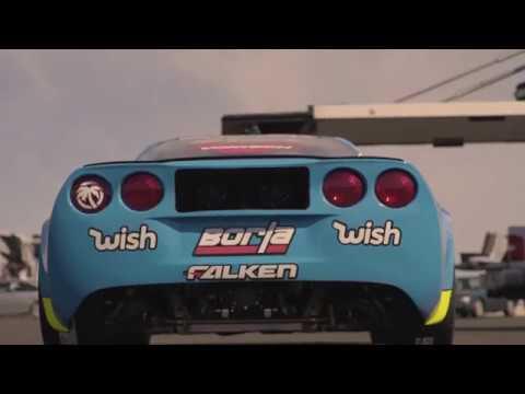 Testing Matt Field's 1000+ HP Formula Drift Corvette