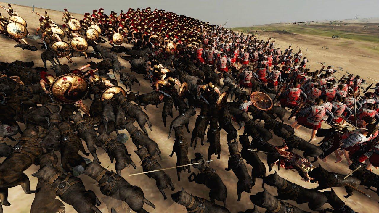 30000 ROMANS vs 30000 SPARTANS - Ultimate Epic Battle ...