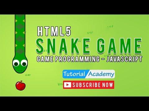 Snake Game   Easy HTML5 Tutorial   Game Programming   Javascript   Tutorial Academy