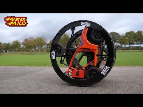 Diwheel insane rollercoaster drive! Rolling & gerbilling
