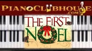 🎄 THE FIRST NOEL - Traditional Christmas Carol (easy piano tutorial lesson)