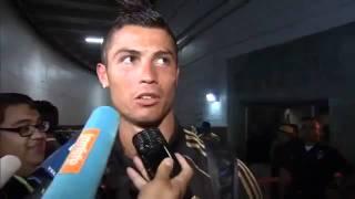 Cristiano Ronaldo and very stupid Journalist 2011 HD