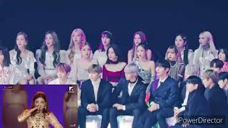 Blackpink(블랙핑크), Wanna one(워너원), Momoland (모모랜드) react to (G…