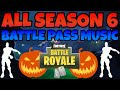 All Season 6 Battle Pass Lobby Music Complete | Squeaky Clean (Floss Remix Song) | Eerie | OG Remix