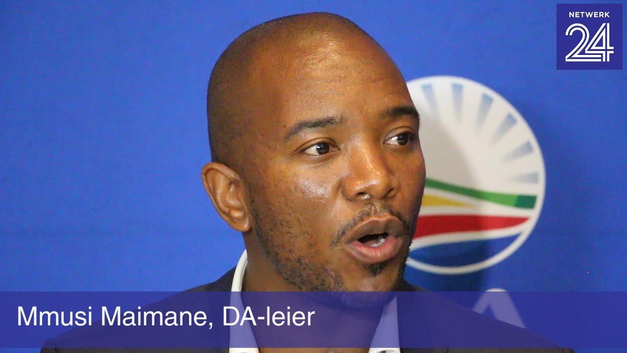 Download 'Om te bedank is nie genoeg nie, Zuma' - Maimane