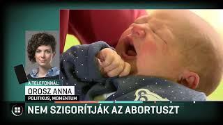 A kormány egyelőre nem tervezi az abortusz szigorítását 19-09-07