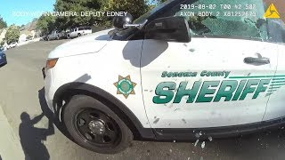 Sonoma County Sheriff body camera video of August 1 officer-involved shooting
