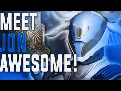 Destiny. MEET JON AWESOME! (and how I can smell Hunters.....)