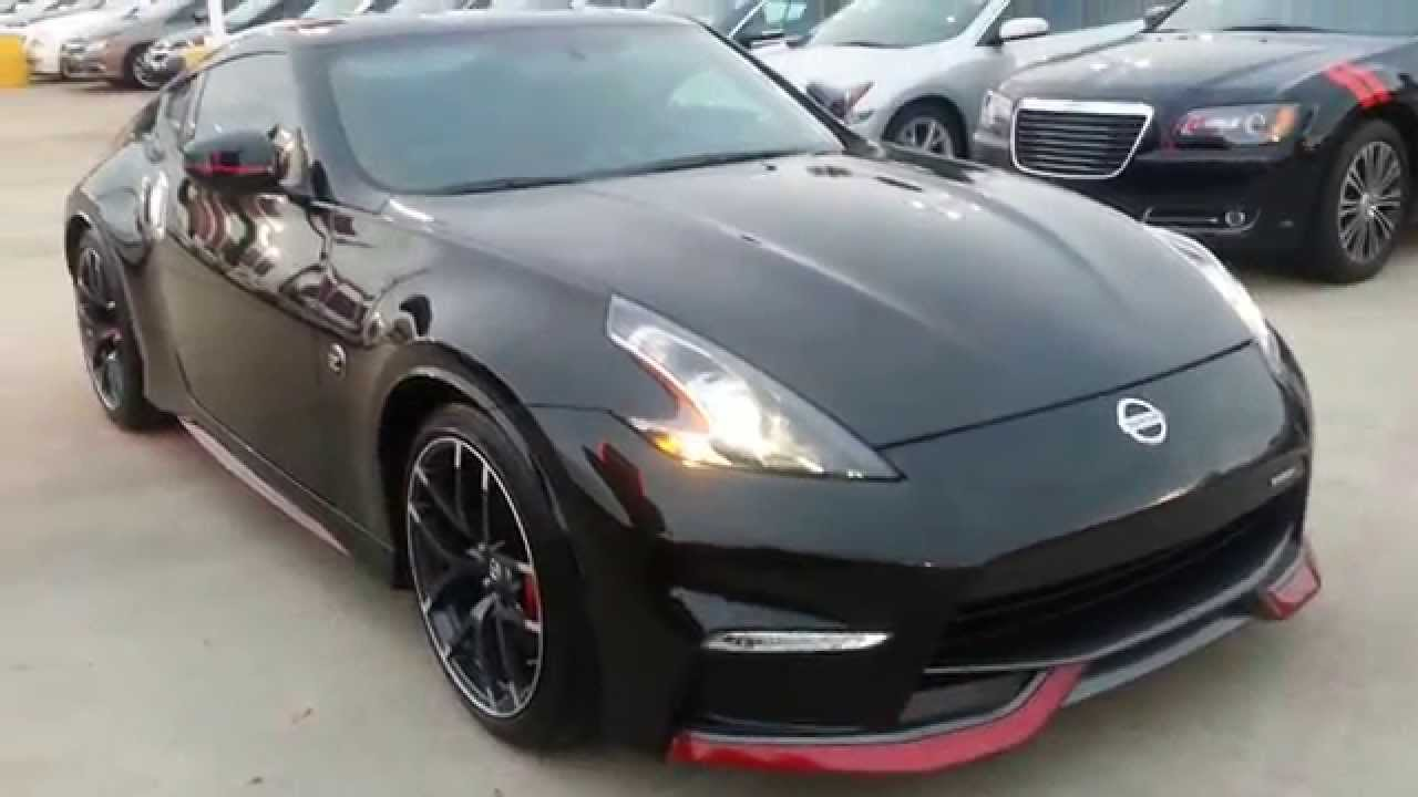 2015 nissan 370z nismo black black alcantara red youtube. Black Bedroom Furniture Sets. Home Design Ideas