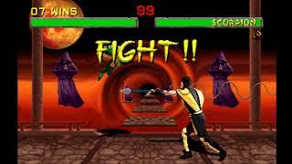 Mortal Kombat II - Jade Playthrough (Arcade) (Very Hard) (Includes Jade)