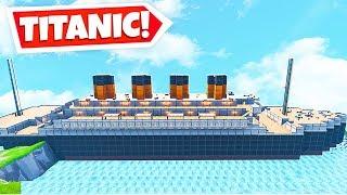 "Neuer Ort: ""TITANIC TITAN"" - Fortnite Kreativmodus"
