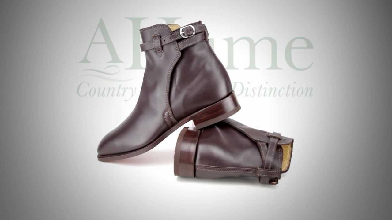 Rm Williams Stockman Buckle Boot Chestnut From A Hume