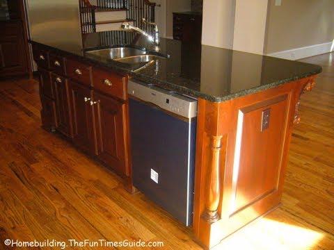 kitchen islands with sink and dishwasher youtube kitchen island sinks