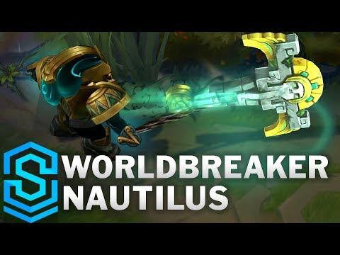 Worldbreaker Nautilus (2020) Skin Spotlight - League of Legends