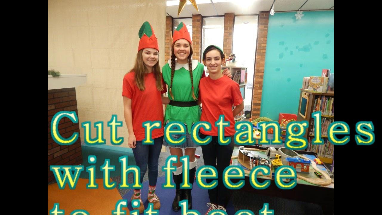 DIY Elf Costume Easy using T shirt  sc 1 st  YouTube & DIY Elf Costume Easy using T shirt - YouTube