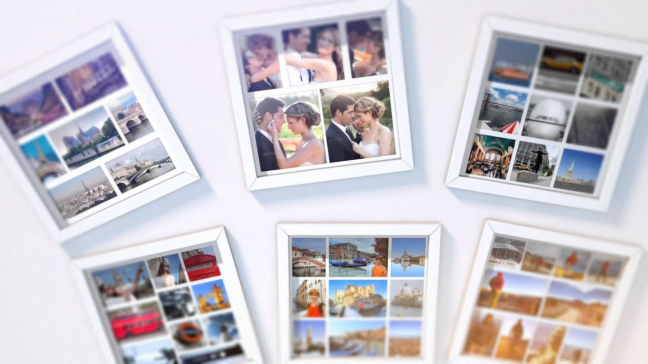 Photo Frames Collage - YouTube