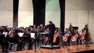 Shostakovich Symphony No7 Leningrad - Seven Lakes High School Spring Orchestra April 2015