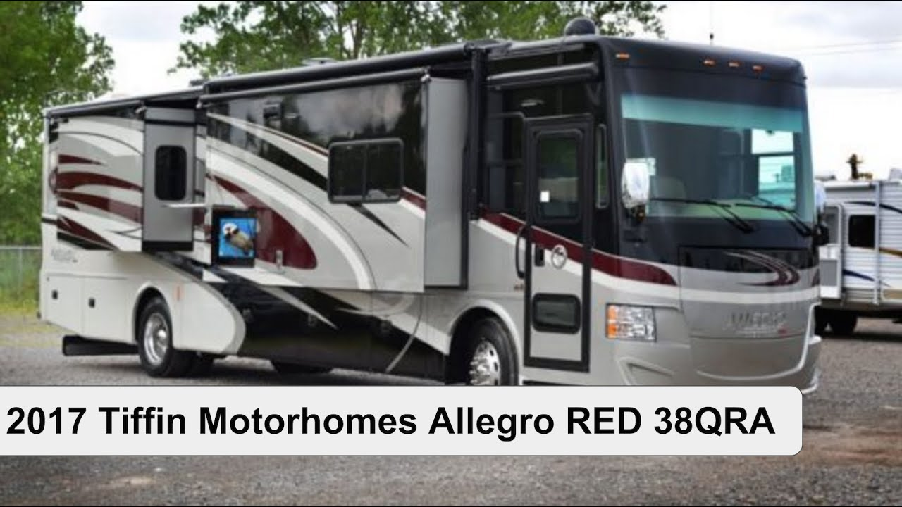 2017 Tiffin Motorhomes Allegro Red 38qra