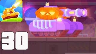 Tank Stars - Gameplay Walkthrough part 30 - New Update Halloween, New Tank PUMPKIN (iOS, Android)