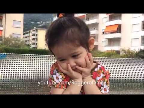 """""""Bụng nhỏ xíu mà"""" - em LyLy  33 tháng tuổi trò chuyện với mẹ - Annalisa LyLy"""