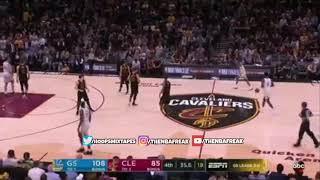 Last Minute of the 2018 NBA Finals