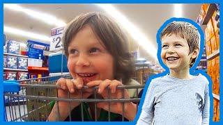 Shopping at Walmart with Imagination