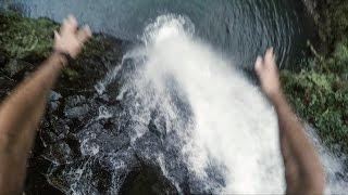 TERRIFYING WATERFALL JUMP | First Descent