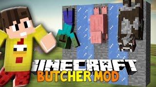 KASAP MODU !!! (ÇÖP ŞİŞ , ET MANGAL , ŞİŞ ÇEVİRME) - Minecraft Mod Tanıtımları #63