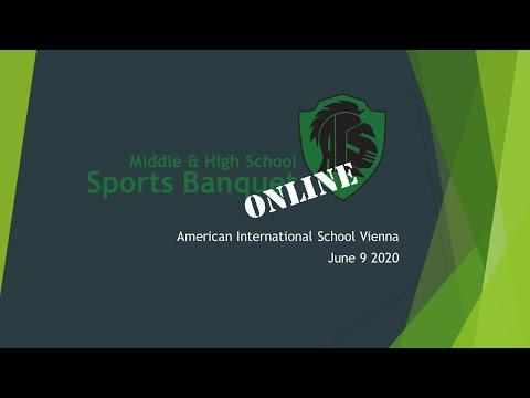 AIS Vienna MS & HS Sports Banquet 2020