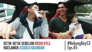 Detik-detik sebelum Richo Kyle ngelamar Jessica Iskandar!! - #NebengBoy S3 Eps. 05