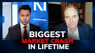 Harry Dent: Stocks to crash 40% by April and won't rebound for decades, here's why (Pt. 1/2)