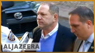 Harvey Weinstein charged with rape, sex abuse and other crimes   Al Jazeera English