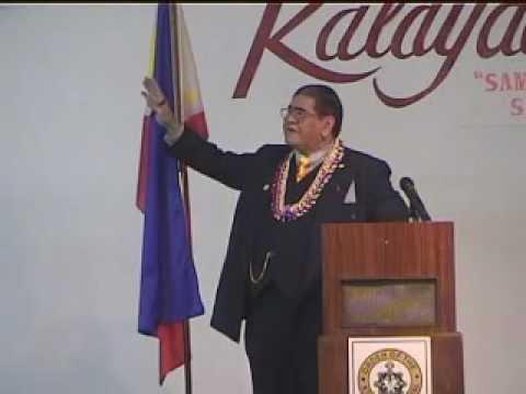 PROF. JOSE DAVID LAPUZ, INTERNATIONAL LECTURER & RIZALISTA DE VANGUARDIA at HAWAII