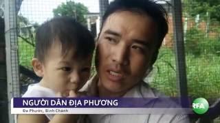 Dân phản đối khu xử lý rác Đa Phước