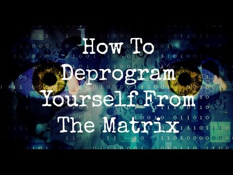 How To Deprogram Yourself From The Matrix