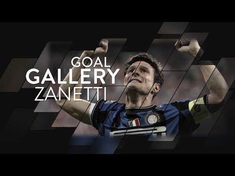 JAVIER ZANETTI   All of his 21 Inter goals 🇦🇷🖤💙 Mp3
